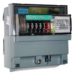 Меркурий Электросчетчик 201.5 на DIN-рейку 5-60А/220В 1Ф 1т. Механика - фото 12796
