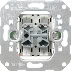 Мех Выключатель кнопочный (1 НО контакт) 2-х клавишный - фото 14930