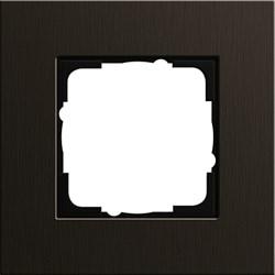 Рамка 1-пост, Gira Esprit Алюминий коричневого цвета - фото 5842