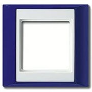 Рамка одинарная Jung A plus Синий/белый ap581BLWW