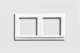 Рамка двойная, для горизонтального/вертикального монтажа Jung A500 Белый a582ww