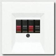 Накладка розетки ТАЕ, моно/стерео-аудиорозетки, комбинированной вставки Jung LS 990 Белый ls969tww