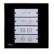 4-клавишная панель KNX, европейский стандарт