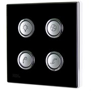 4-клавишная кнопочная Smart панель, LED индикация, европейский стандарт