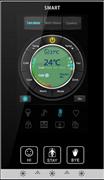 """Умный выключатель с цветным сенсорным экраном высокой чёткости """"CTP"""" (G5)"""
