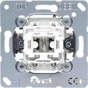 Механизм выключателя одноклавишного перекрестного (вкл/выкл с 3-х мест) 10 А / 250 В Jung A500 Белый 507u
