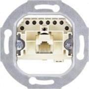 Механизм розетки тел одинарной RJ11 Jung A500 Белый EPUAE8UPO