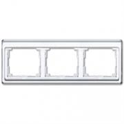 Рамка тройная для горизонтального монтажа Jung SL 500  Белый sl5830ww