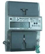 Меркурий Электросчетчик 206 RN 5(60)А/230В кл.т. 1, ЖКИ, оптопорт, RS 485, многотарифный