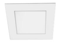 Jazzway Светильник LED квадр PPL - SPW 12W 4000K белый 170*170*25mm IP20