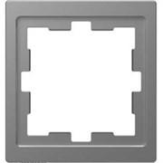 D-Life РАМКА 1-постовая, НЕРЖ. СТАЛЬ , SD MTN4010-6536