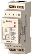 Zamel Диммер 500Вт IP20 на DIN рейку для л/н, обм/тр, эл/тр, комп. люм/ ламп