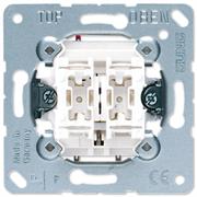 JUNG Мех Выключатель 2-клавишный кнопочный (2 НО контакта) 535U