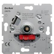 Berker поворотный диммер с Soft-регулировкой, 230В, 60-600Вт (механизмы) 2875