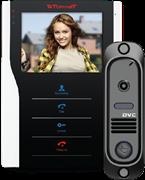 Tor-neT Комплект видеодомофона (TR-35 WB монитор видеодомофона цв. + В/П DVC-412Bl) TR-35 WB/412Bl