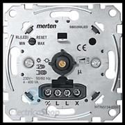 SE Merten Механизм универсального поворотно-нажимного светорегулятора, LED 4-400Вт  MTN5134-0000