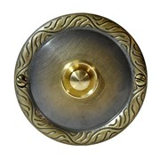 Zamel Кнопка звонка (медь) с круглой табличкой