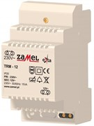 Zamel Трансформатор напряжения 230VAC/12VAC 15VA IP20 на DIN рейку 3мод