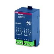 BE/M 4.24.1 Бинарный вход, 4-х канальный, 12/24V ABB KNX