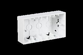 Simon 15 Белая Коробка 2-ая для наружного монтажа