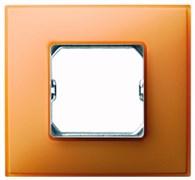 Simon 27 Neos Оранжевая Рамка 1-ая