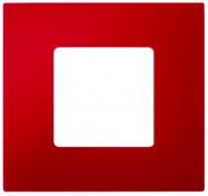 Simon 27 Play Красная Рамка-декор 1-ая