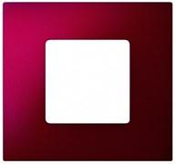Simon 27 Play Артик Красный Рамка-декор 1-ая