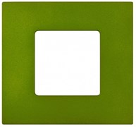 Simon 27 Play Артик Зеленый Рамка-декор 1-ая