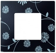 Simon 27 Play Черное & Белое Рамка-декор 1-ая