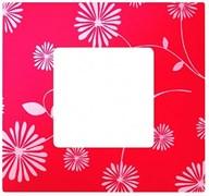 Simon 27 Play Красное & Белое Рамка-декор 1-ая