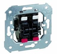 Simon 75 Мех Выключатель кнопочный сдвоенный (нормально-разомкнутый) 10АХ 250V