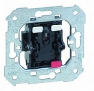 Simon 75 Мех Выключатель 1-клавишный с подсветкой красной 10АX250V