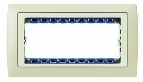 Simon 82 Centr. Слоновая кость Рамка с суппортом на 5 узких модулей