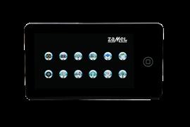 Zamel Домофон с монитором 7 LCD, черный (VP-709B)