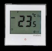 Zamel Программируемый регулятор температуры, сенсорный, белый