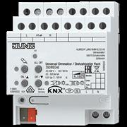 KNX/EIB-диммер освещения универсальный, одноканальный