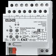 KNX/EIB-диммер освещения универсальный, 2-канальный