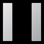 JUNG KNX Алюминий Комплект накладок 1гр