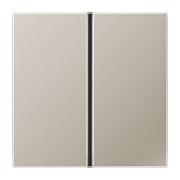 JUNG KNX LS 990 Edelstahl Комплект накладок, 1гр