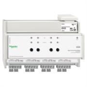 KNX - система умного дома Schneider Electric Унив. светорегулятор 4-канала по 250 Вт - MTN649325