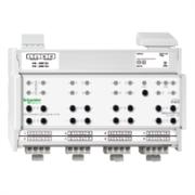 KNX - система умного дома Schneider Electric Актуатор жалюзи 8-каналов 230В -24В - MTN649808