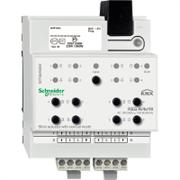 KNX - система умного дома Schneider Electric Актуатор жалюзи 4-каналов 230В -24В - MTN649804