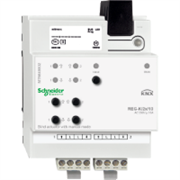 KNX - система умного дома Schneider Electric Актуатор жалюзи 2-каналов 230В -24В - MTN649802