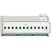 KNX - система умного дома Schneider Electric Актуатор 12-канальный 230В 16А С-Load - MTN648495