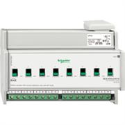 KNX - система умного дома Schneider Electric Актуатор 8-канальный 230В 16А С-Load - MTN647895