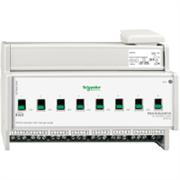KNX - система умного дома Schneider Electric Актуатор 8-канальный 230В 16А - MTN647893