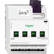 KNX - система умного дома Schneider Electric Актуатор 4-канальный 230В 16А - MTN647593