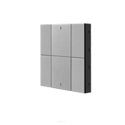 Iswitch 6 button metalic gray plastic