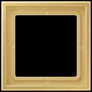 Jung LS Zero Латунь Рамка 1-ая LSZME981BFC