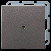 JUNG LS 990 Антрацит Вывод кабеля AL2990AAN